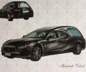 Carro funebre Maserati Vekal Nero