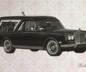 Carro funebre Rolls Royce